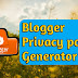 Privacy Policy Page kaise banaye for Blogger in Hindi - W3Survey