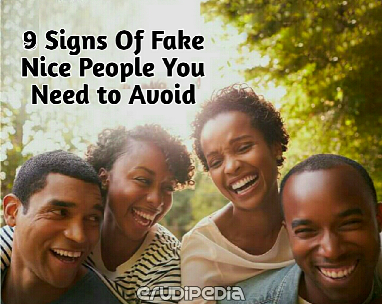 Signs of fake nice people