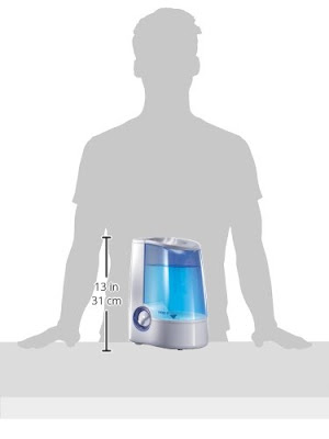 Size of the Vicks humidifier