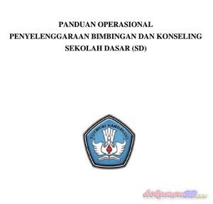 Download Panduan Bimbingan Konseling Jenjang SD Kurikulum 2013