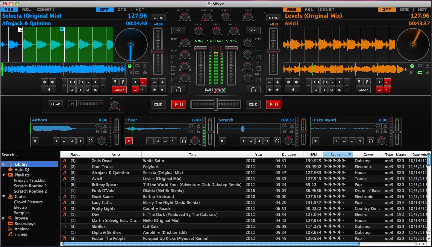 Mixxx Development Blog Mixxx 1 10 1 Released