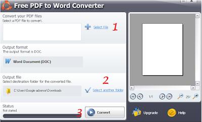 Cara convert file PDF menejadi Doc (word) dengan mudah