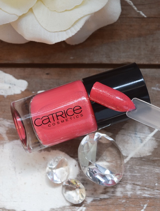 Swatch von dem Nagellack Catrice 90 she said yes