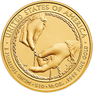 United States Gold Coins Ida McKinley 2013 10 Dollars First Spouse Gold Coin