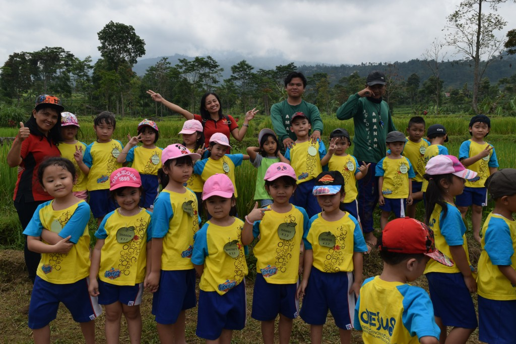 TK Kristen Kalam Kudus Outing Class di Amanah