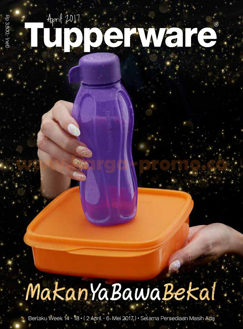 Katalog Promo Tupperware April 2017