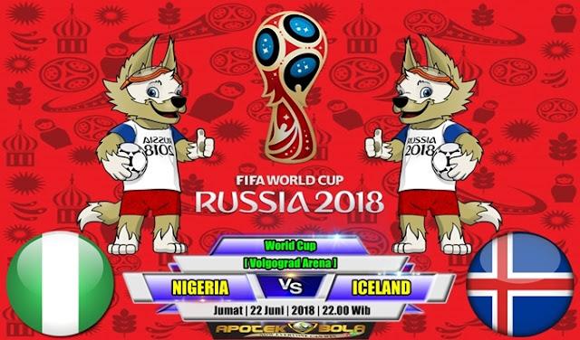 Prediksi Nigeria vs Iceland 22 Juni 2018