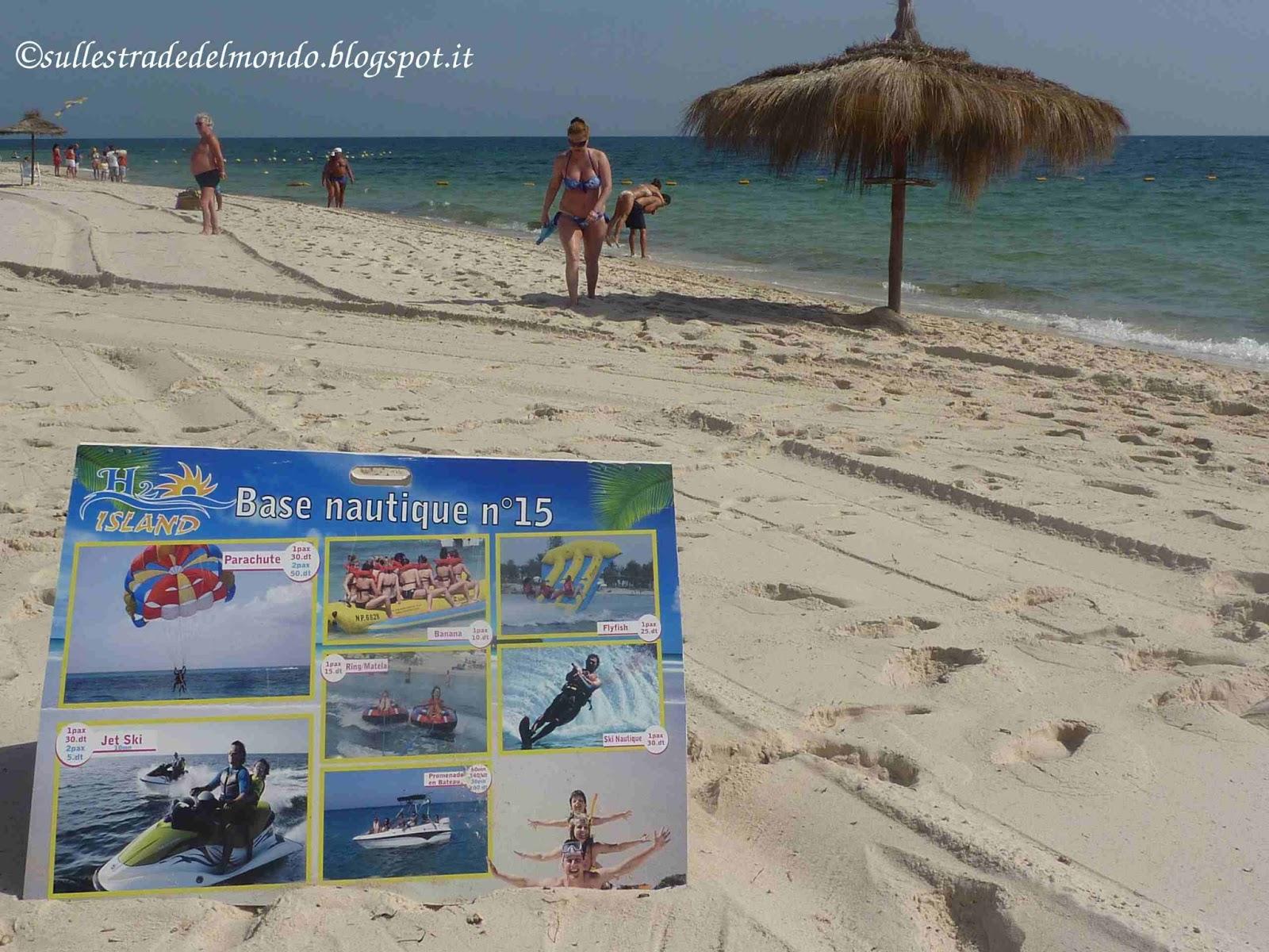 Attività sportive in Tunisia