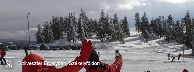 Szilveszter Erdélyben, Székelyföldön - Selfizés a Madarasi Hargitán