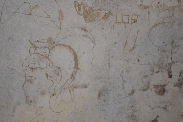 graffiti Napoli sotterranea