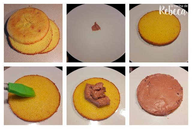 Receta de tarta de naranja y chocolate 01