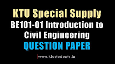BE101-01 Introduction to Civil Engineering