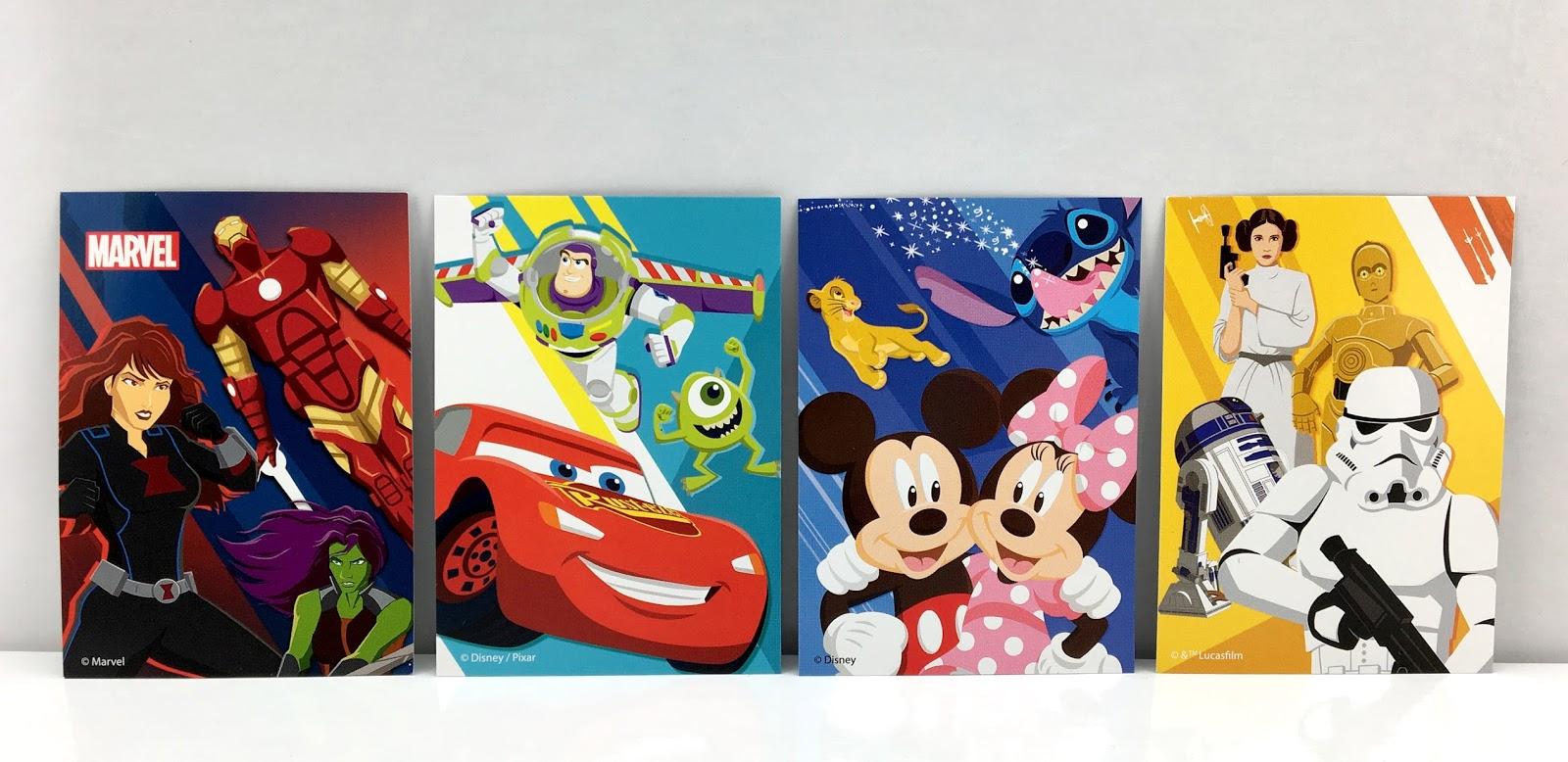 disney store 30th collectible trading cards
