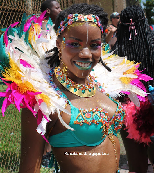 Toronto Carnival 2017 - the Road Part 1
