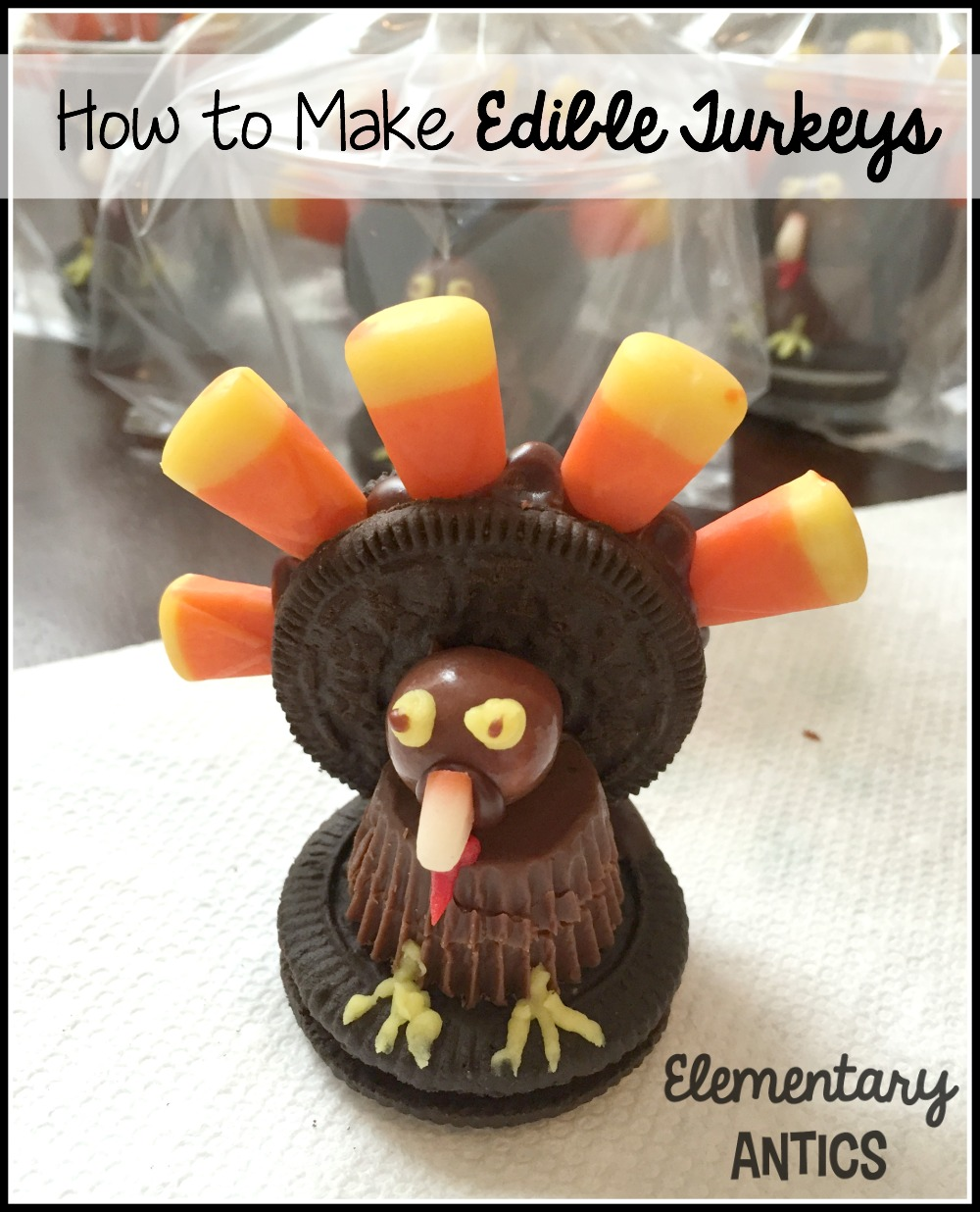 Procedural Writing With Edible Turkeys Elementary Antics