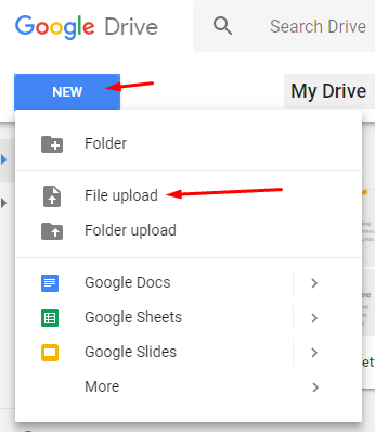 Google Docs pdf to word