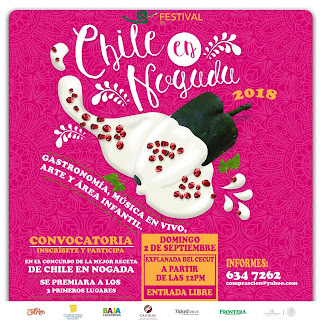festival del chile en nogada tijuana 2018