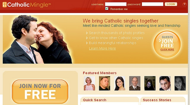 Single catholic dating service