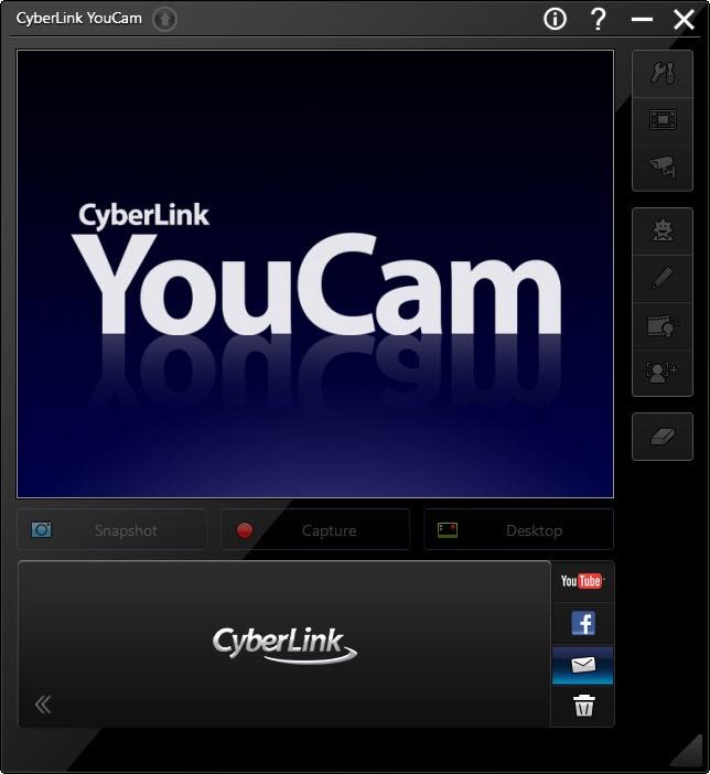 برنامج CyberLink YouCam لاضافة التأثيرات علي الكاميرا