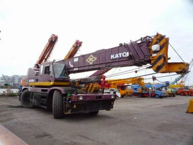 Kato 70t Rough Terrain Crane Load Chart : Kato ss sp kr h rough terrain crane ton cranepedia