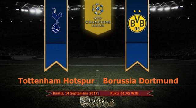 Prediksi Bola : Tottenham Hotspur Vs Borussia Dortmund , Kamis 14 September 2017 Pukul 01.45 WIB