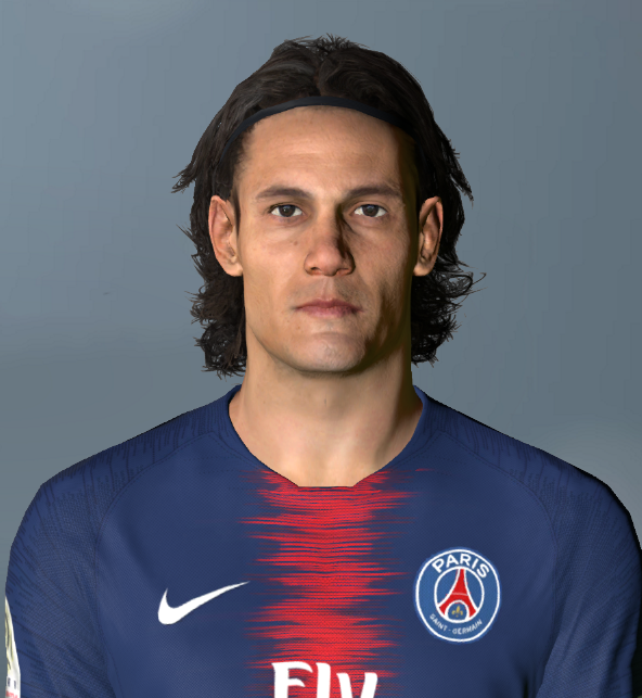 PES 2017 Cavani face by Shenawy