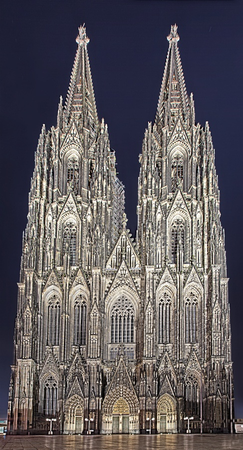 Gothic Berlin Roman Catholic Church In Cologne, Germany | A1 Pictures