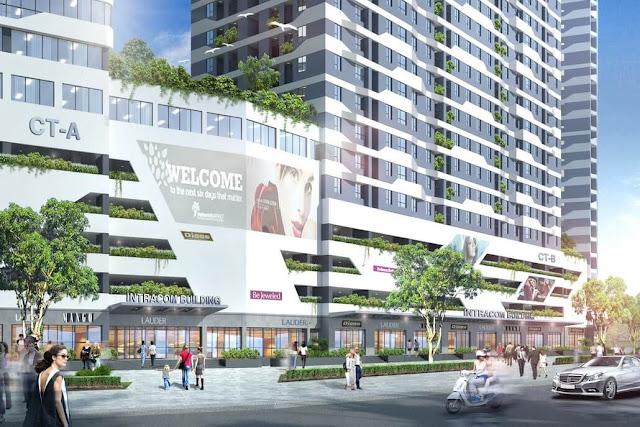 Dự án chung cư Intracom Riverside Vĩnh Ngọc Đông Anh