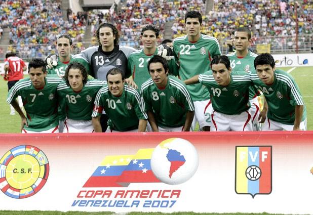Formación de México ante Chile, Copa América 2007, 4 de julio