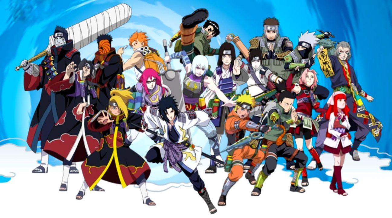 Download 41 Naruto Wallpaper Characters Gratis Terbaik