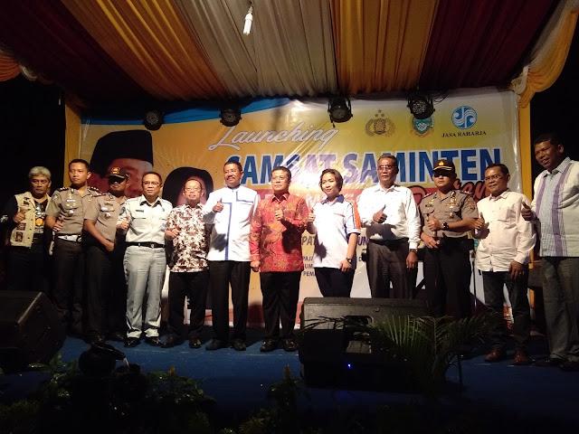 Gubernur Sumut Meresmikan Launching SAMSAT SAMINTEN di Siantar