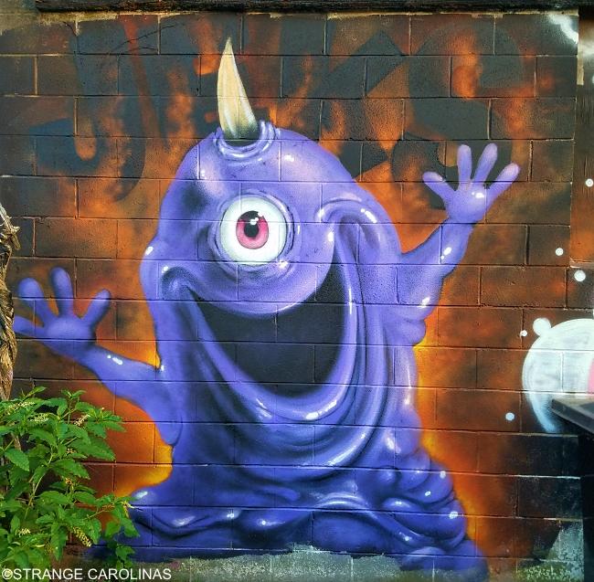Cheap O Video Murals Greensboro Nc Strange Carolinas The