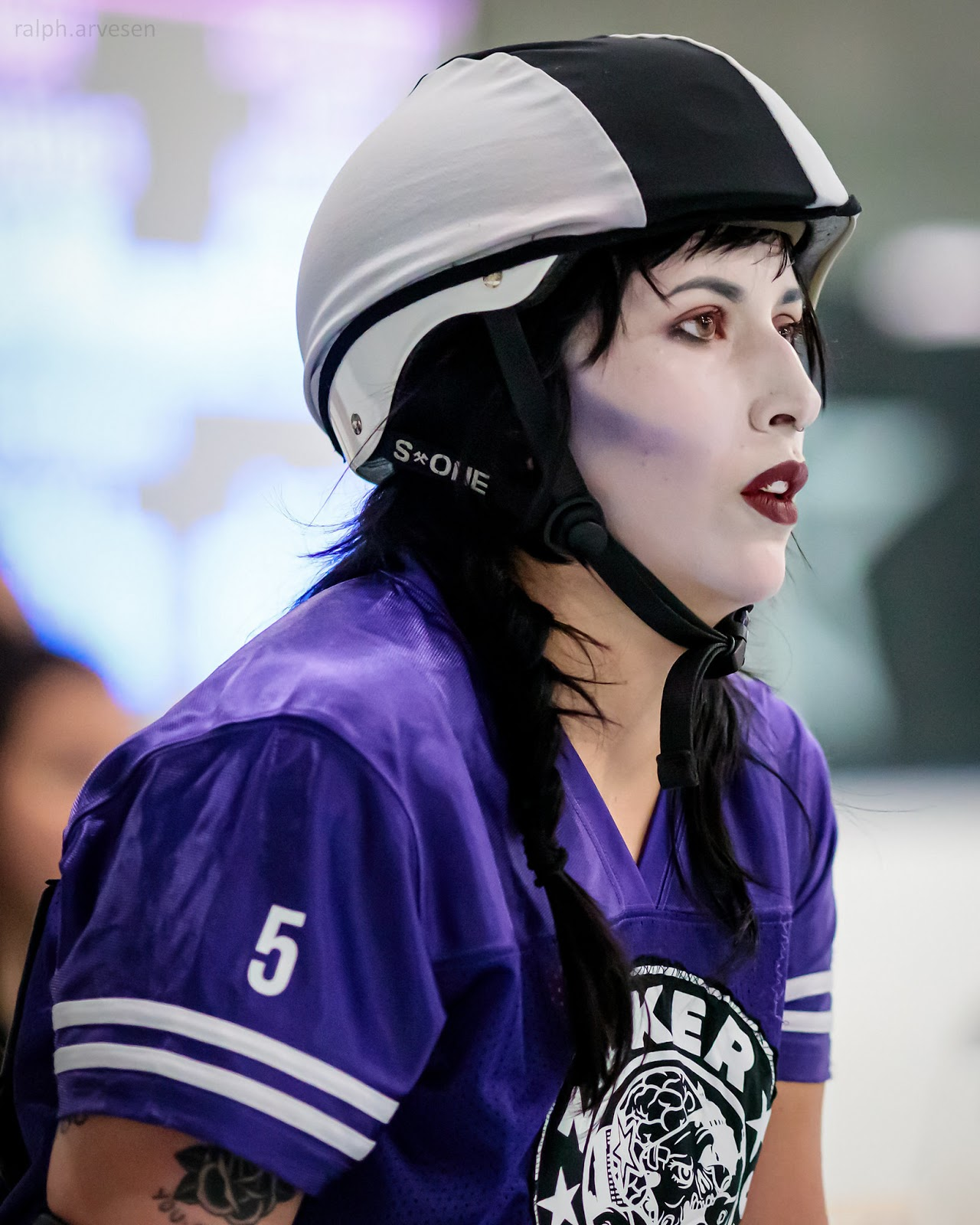 Roller Derby bout between the Zilker Zombies and The Lady Bird Lake Monsters | Texas Review | Ralph Arvesen