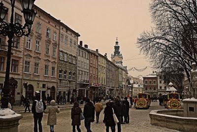Lviv Lwów zabytki i atrakcje turystyczne Ukraina Ukraine 4