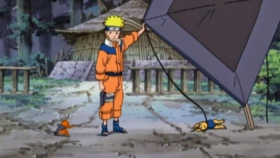 Naruto, Gamakichi y Gamatatsu