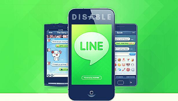 Cara Menonaktifkan LINE Sementara di Android