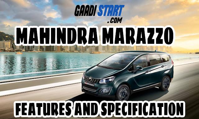 2018 Mahindra Marazzo - Specification, picture, all variants explain, price, mileage