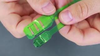 Tutorial Cara Membuat Kabel Ties dari Botol Bekas