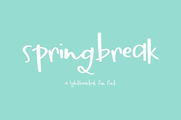 Springbreak Sans Font