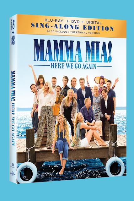 Mamma Mia Bluray DVD Digital