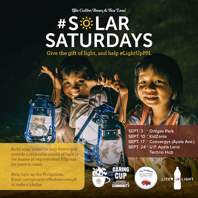Coffee Bean & Tea Leaf's Solar Saturdays