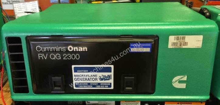 Picture of a Cummins Onan Mobile Power Generator on Shop Display
