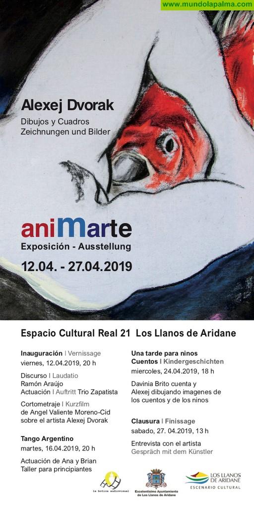 """Exposición de pintura """"aniMarte"""" de Alexej Dvorak"""