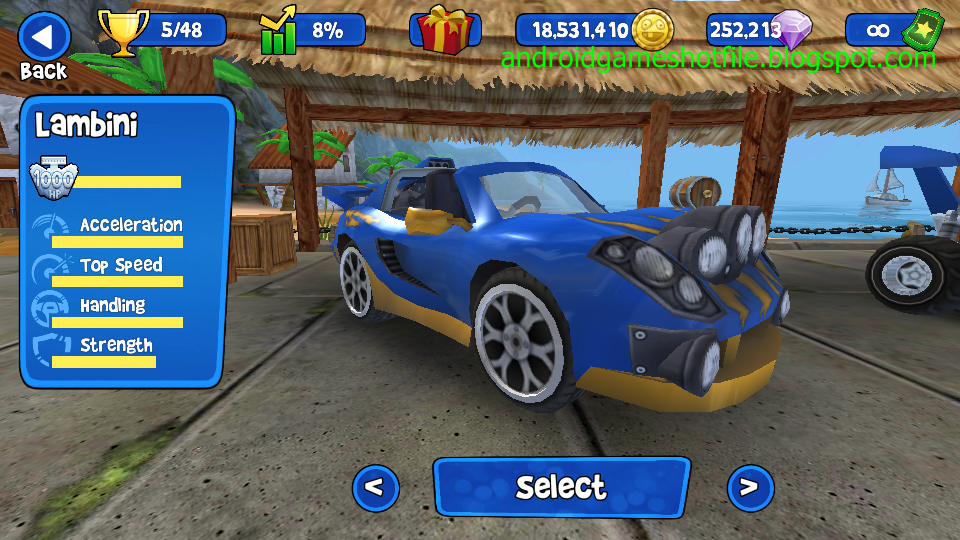 Image Result For Game Mod Apk Bb Racing