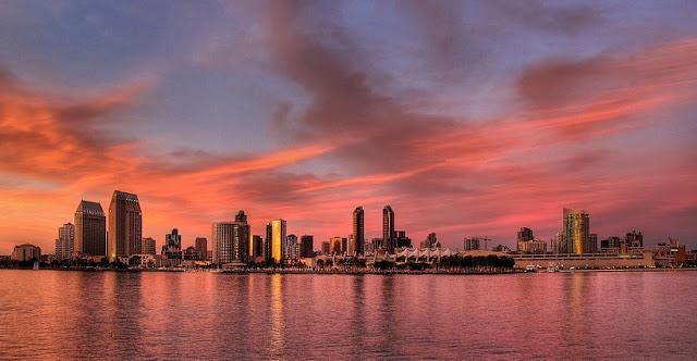 Condições climáticas no mês de maio em San Diego