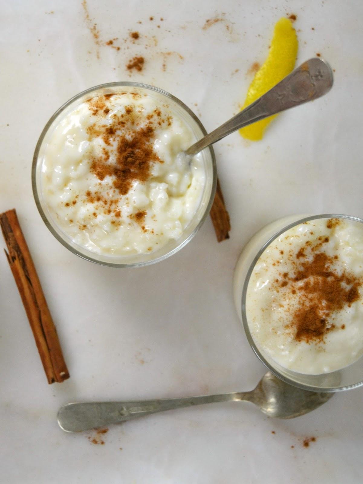 Arroz con leche cremoso con el i companion de moulinex for Como se cocina el arroz