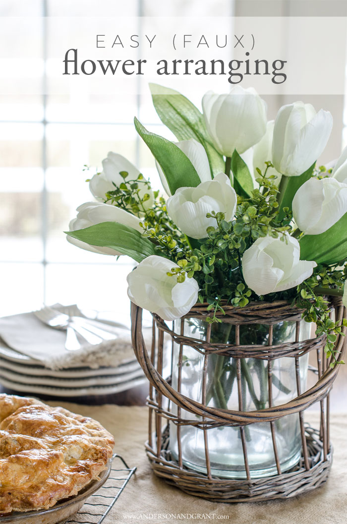 Must read secrets behind creating a realistic flower arrangement out of craft store flowers #tutorial #howto #flowerarranging #DIY