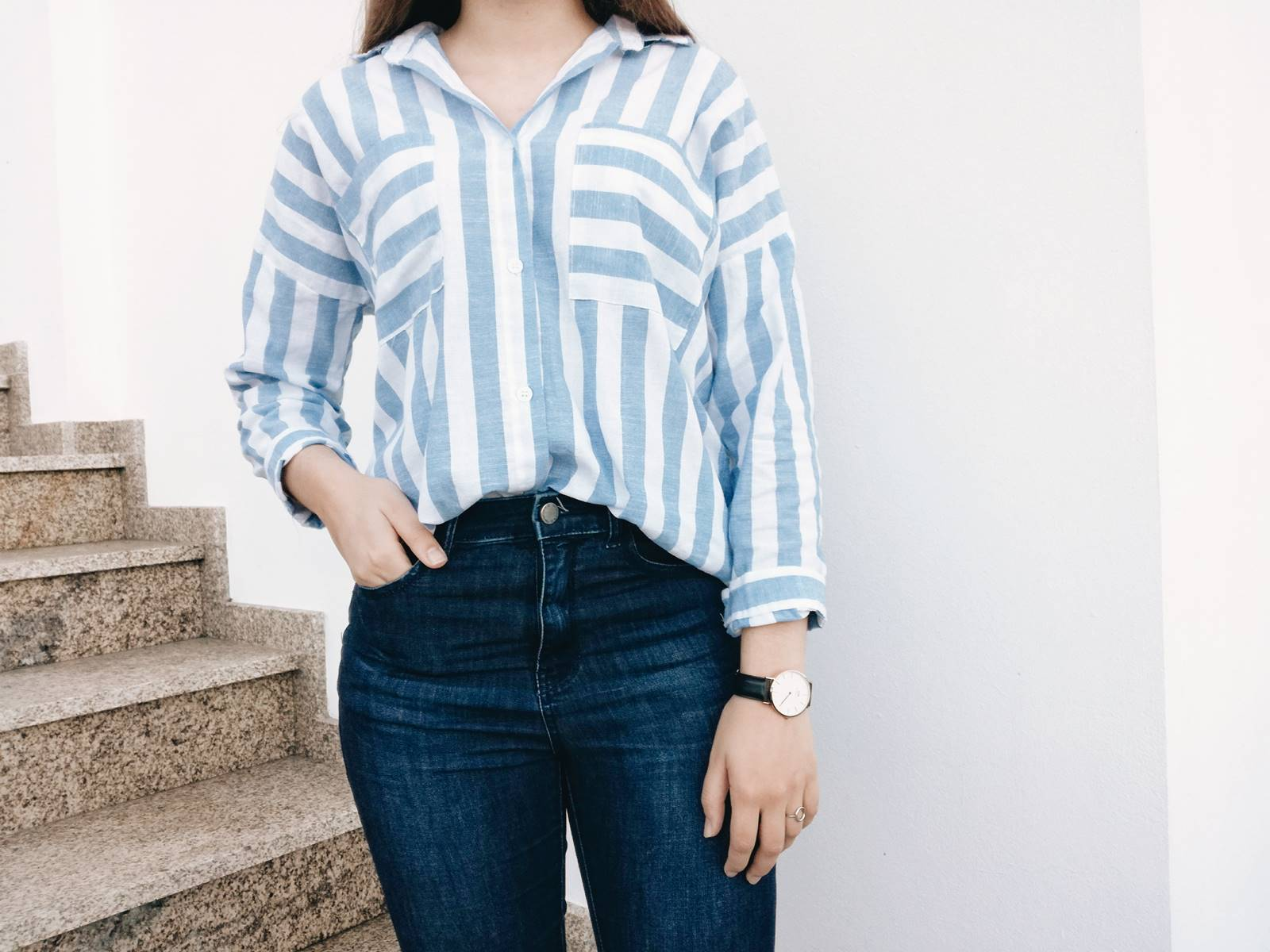 OOTD | SHIRT FROM ROMWE