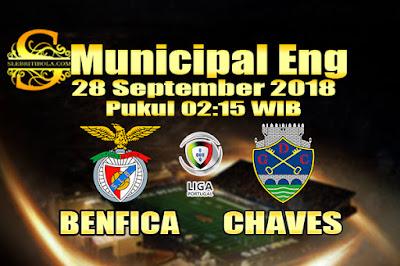 AGEN BOLA ONLINE TERBESAR - PREDIKSI SKOR LIGA PRIMER PORTUGAL CHAVES VS BENFICA 28 SEPTEMBER 2018