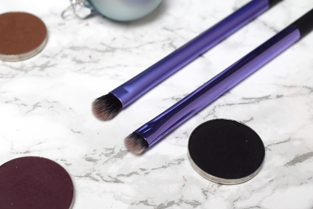 Real Techniques smudge brush eyelining set review